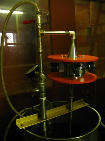 Випробування проточного трубчастого кавітатора
