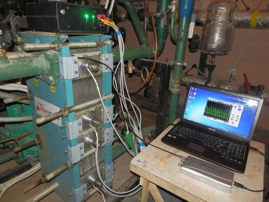 Дослідження впливу ультразвуку на фізико-хімічні процеси в пластинчатому теплообміннику